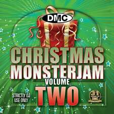 DMC Christmas Monsterjam Vol 2 Megamix Music DJ CD All in One Mixed Disc Xmas