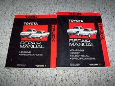 1990 Toyota Pickup Truck Shop Service Repair Manual 4WD