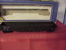 Vintage AHM AT & Santa Fe 5299 Long black Gondola In AHM Box