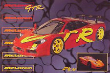 Mclaren GTR-F1 LM Out of Print for Years Car Poster:>)