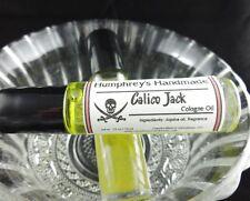 CALICO JACK Men's Natural Jojoba Cologne Oil, Ocean Roll On Fragrance, Nautica