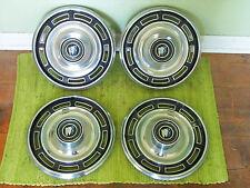 "1967 Buick Hub Caps 14"" Set of 4 Wheel Covers 67 Hubcaps"