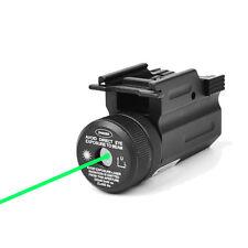 QD Green Dot Laser Sight 20mm Picatinny Rail for Pistol Rifle Gun G17/19/22 Hunt