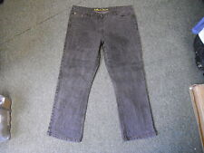 """BHS Bootcut Jeans Size 18 Leg 28"""" Faded Light Black Brown Wash Ladies Jeans"""