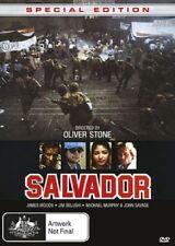 PRE ORDER: SALVADOR (Oliver Stone) BLU RAY - Sealed Region free