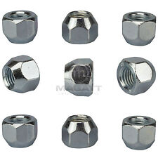 20 Wheel Nuts Nuts Zinc M12 1,5 OPEN CONE 60° Tapered SW19 Alloy Wheels