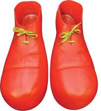 Morris Costumes Men's Plastic Clown Shoes Red One Size. HA01RD