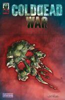 Cold Dead War #1 George Romero Hevay Metal 2021 Low Print Run