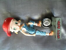 figurine collection résine betty boop garagiste 14 cm héros cartoons