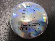 London Eye Pin Badge Button (L14B)