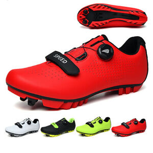 Professional Cycling Shoes Men MTB Bicycle Bike Road Sneakers SPD Cleats Outdoor