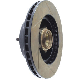 Disc Brake Rotor-Sport Slotted Brake Disc Front Right Stoptech 126.62000SR
