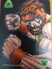 Marvel Overpower Monumental Strength Level 7 Hercules Power Card Mint