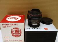 "Leitz 11222 - Leica Fish-Eye Elmarit-R 1:2.8/16mm ""1a Sammlerstück"" - OVP!"