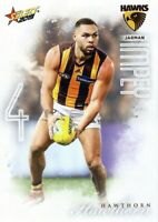 ✺New✺ 2019 HAWTHORN HAWKS AFL Card JARMAN IMPEY Footy Stars