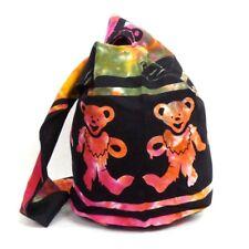 Tie Dye Purse Grateful Dead Dancing Bear Hippie Boho Hobo Shoulder Bag Tote