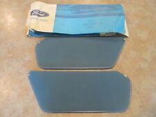 NOS 1980-1981 Ford LTD Sun Visor Pair.. OEM Ford New In Packages