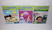 LeapFrog LEAPSTER Learning Game System Cartridges / Dora / Disney/ NiHao Kailan