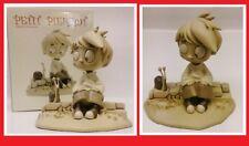 PETIT PIERROT VARANDA Statue Attakus Bombyx resine Little Alberto # NEUF #