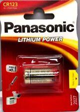 PANASONIC CR123/DL123A/EL CR123A/CR123R 3V LITHIUM EXTRA POWER BATTERY BATTERIES