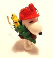 Christmas Ornament  Snoopy & Woodstock carrying a tree  Peanuts