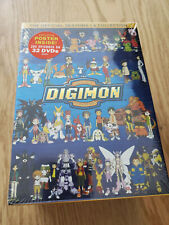 Digimon: The Official Seasons 1-4 Collection (DVD, 2013, 32-Disc Set)