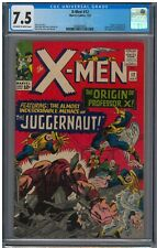 X-Men 12 July 1965  Key Issue!! Origin of Professor X ; CGC 7.5