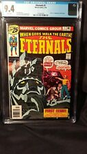 The Eternals V1 #1 (Origin/1st Eternals; White Pages; CGC 9.4) by Comic Blink