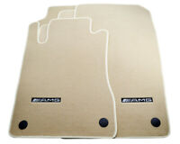 Floor Mats For Mercedes-Benz E Class S211 Kombi With AMG Emblem Beige LHD NEW