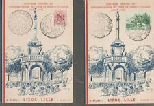 """Belgique, België, Souvenirs philatéliques """" Liège, Cyclisme """", bien"""