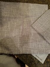 Kevin Textile Set of 2 Decorative Pillows Covers, Grey, 18 x 18, new!