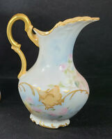 Antique JPL China Jean Pouyat Limoges Little Pitcher Creamer 1842 - Early 1900s