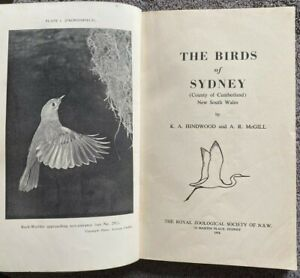 1958 1st THE BIRDS OF SYDNEY, Hindwood & McGill, 19 PLATES, FREE POST AUST