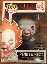 Funko Pop IT FYE Exclusive Pennywise With Teeth in stock ready to ship blue Eyes