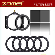 4*6in Neutral Density filters ND8+ND4 Kit & 67mm 72mm 77mm 82mm 86mm ring+holder