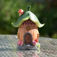 Green Leaf Secret Magic Fairy Garden House Decoration Lawn Oranment Accessories