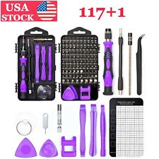 117 In 1 Screwdriver Repair Kit Magnetic Electronic Device Tool Nutdriver