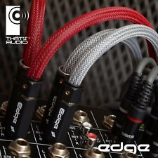 EDGE 3m PHONO (RCA) GREY Interconnect Cables (1x Pair Male to Male) THATS AUDIO