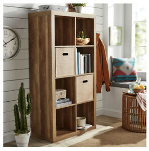 Better Homes & Gardens 8-Cube Organizer, Brand New Color Weathered Free Shipping