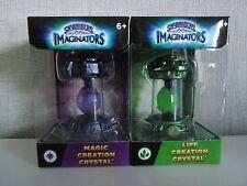 Skylanders Imaginators - 2 x Creation Cristal (Magic, Vie) - Neuf Et Scellé