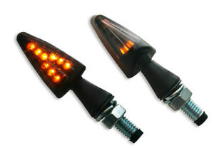 """Led smoke - lens turn signal / abs / black - HEIGHT: 16 5 mm (5/8"""") - Parts E..."""