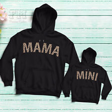 Mama and Mini Matching Hoodie Sweatshirt Mum Daughter Outfits Gifts for Mom 2021