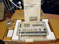 Roland TR-707 RHYTHM COMPOSER Drum Machine w/ Original  MINT w/BOX, Manual