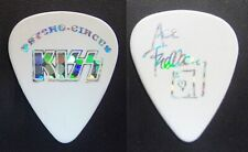 KISS Ace Frehley Signature White Guitar Pick - 1998 Psycho Circus Tour