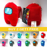 Kids Gift Among Us Game Figure Plush Soft Stuffed Toy Doll Plushie 10CM Party