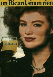 Publicité ancienne Ricard 1952  issue de magazine