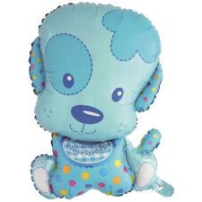 palloncino cane dog blu bambino elio aria nascita decorazione compleanno festa
