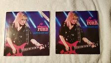 """LITA FORD Gotta Let Go / Run With $ 7"""" UK Vinyl Single 45 PICTURE SLEEVE POSTER"""