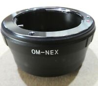 Olympus OM Lens to Sony NEX E Camera Mount Adapter ILCE α6300 α5100 NEX 5T 7R II