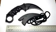 Knife Pisau Moden kerambit Smart gantung tengkok atau ikat dikaki 440c stell
